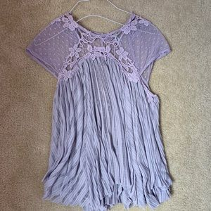 Free People lavender top